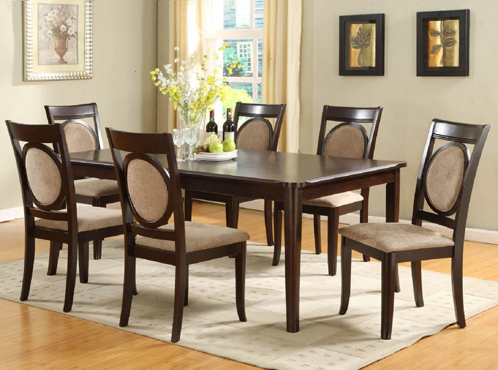 Dining room table and chair clarity photographs