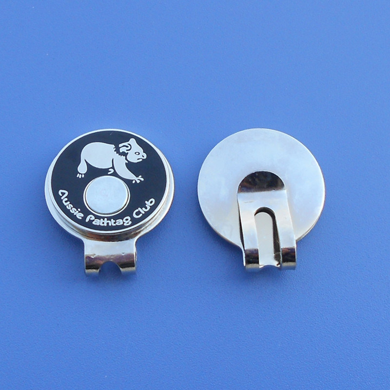 Personalize Magnetic Golf Hat Clip
