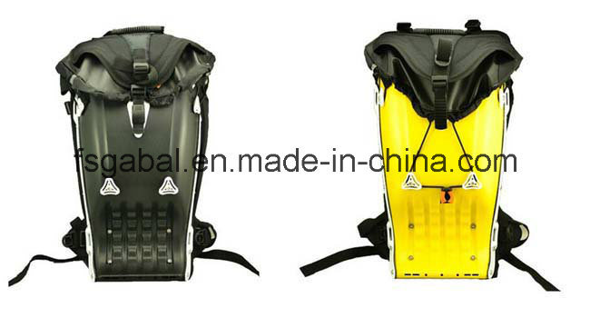 Boblbee ABS/Leatherr Hard Motorcycle Racing Sport Travel Backpack Bag