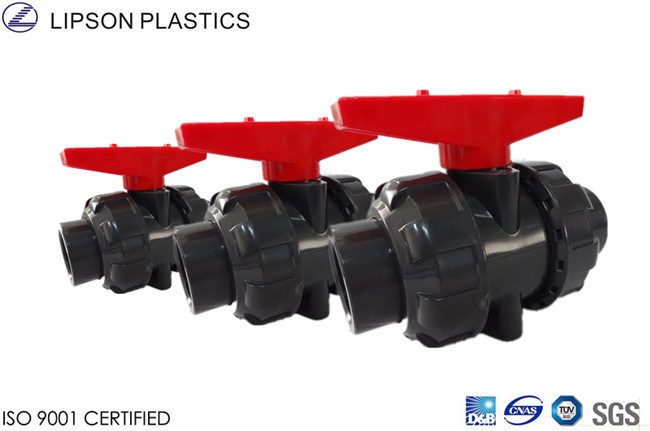 Brand Factory Quality PVC Double Union Ball Valves