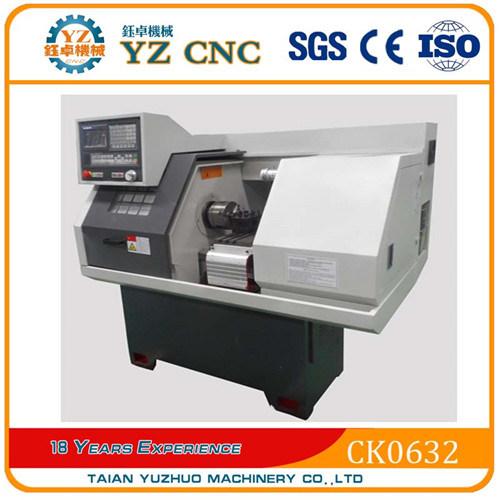 Machining Aluminum Machinery Parts Small Horizontal CNC Lathe