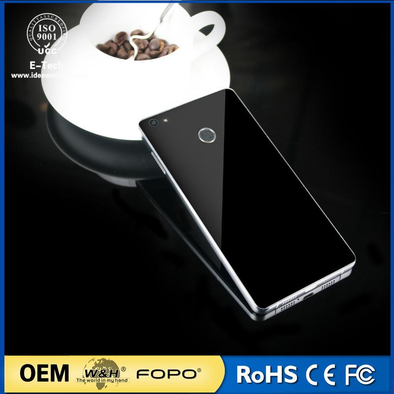China New Design 4G Mobile, Fingerprint Unlock Mtk6737 Androir 6.0 Smart Phone