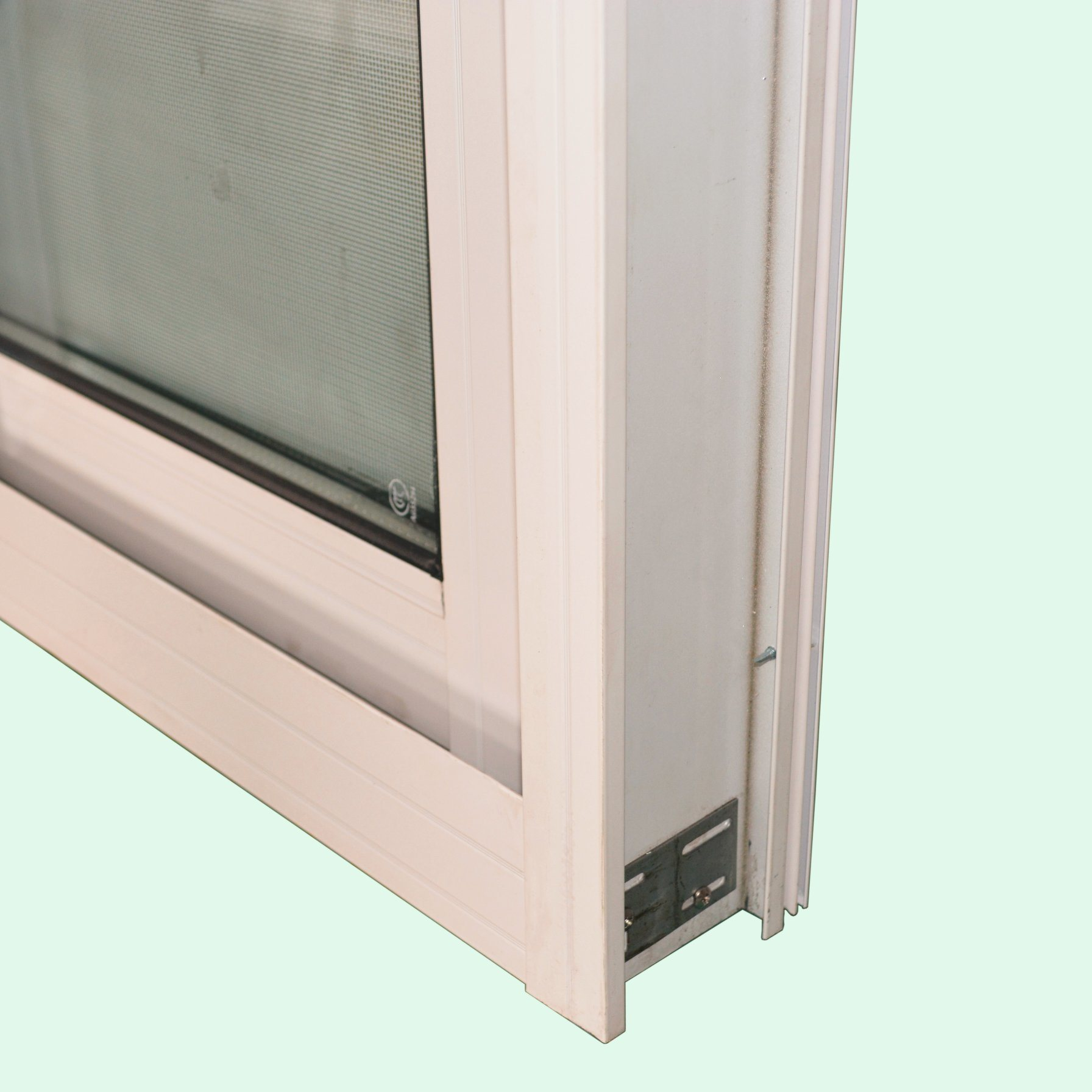 Powder Coated Aluminium Profile Window with Crescent Lock Mosquito Net, Aluminium Sliding Window/Aluminum Sliding Window K01006