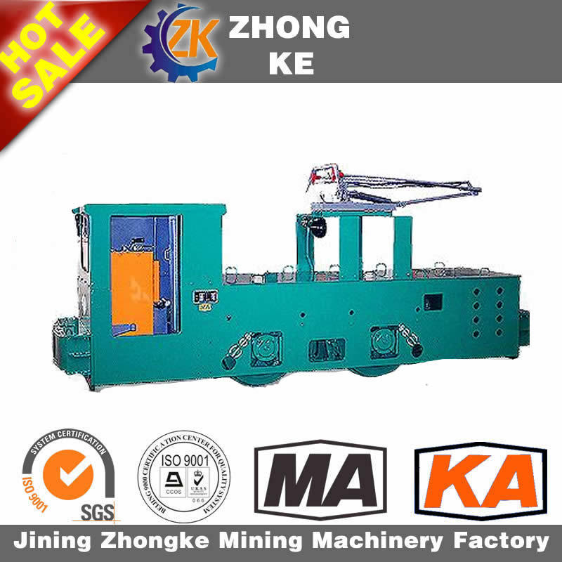 2.5 Tons Explosion-Proof Locomotive Cty2.5 / 6g Underground Mining Electric Locomotive for Mining Use