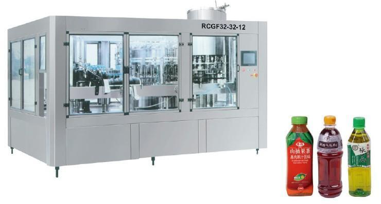 Small Bottle Liquid 3-in-1 Monoblock Filling Machine with Competitive Price