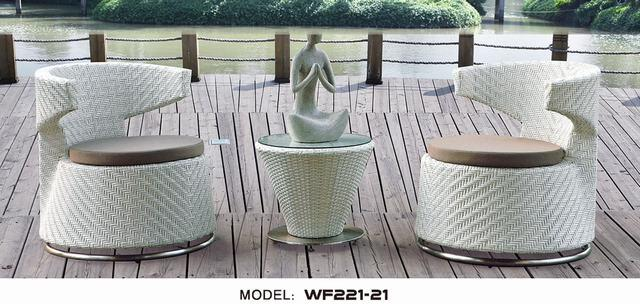 Modern Outdoor Furniture/ Rattan Cafe & Bar Sets (WF2121-69)