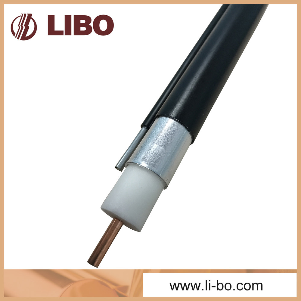 Coaxial Cable 565 Seamless Aluminum Tube Trunk Cable with Messenger