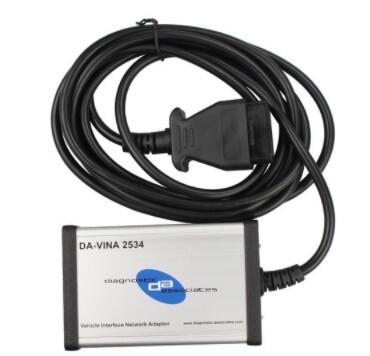 Da-Vina 2534 Auto Scanner (Jaguar Land Rover Approved SAE J2534 Pass-Thru Interface)