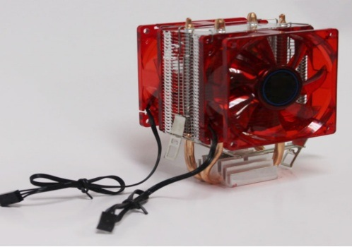 80mm LED Cooling Fans for PC CPU