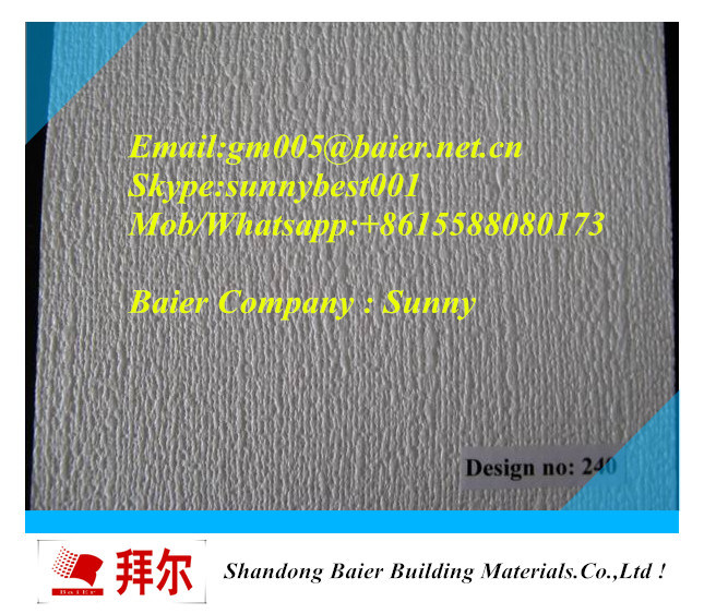 High Quality PVC Gypsum Ceiling Tiles 595mm X 595mm/600mm X 600mm/603mmx603mm)