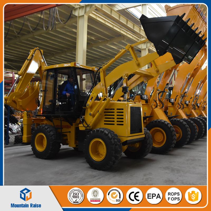 Lowest Price Chinese Manufacture Big Digger 30-25 Backhoe Loader