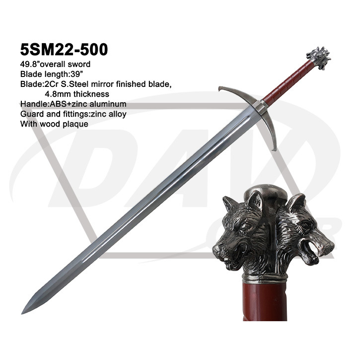 "49.8"" Overall Sword with ABS Handle: 5sm22-500"