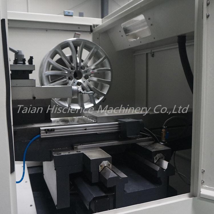 Wheel Polishing Machine Car Alloy Wheel Rim Repair CNC Lathe Awr2840