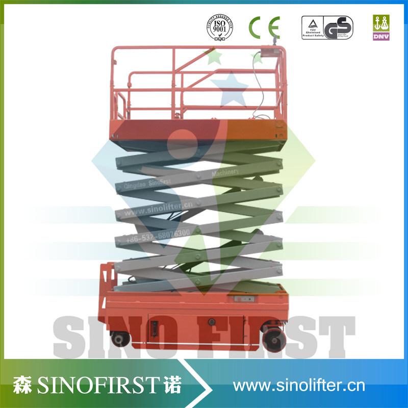 8m Automatic Self Driven Scissor Platform Lift