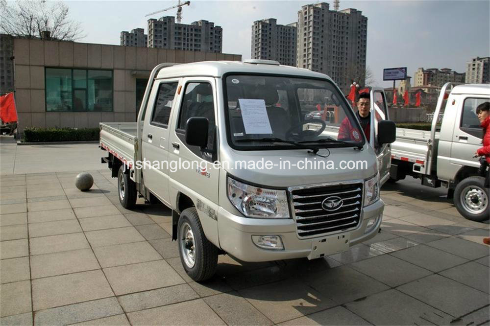 China 4X2 Mini Truck 0.5ton Doubel Cabin Cargo Truck