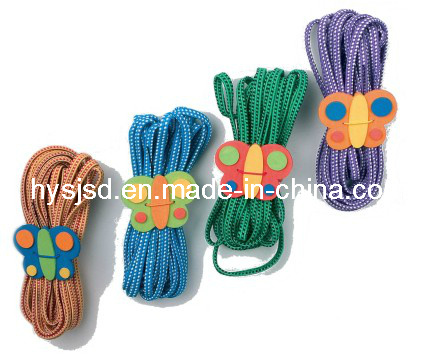 Funny and Colorful Chinese Elastic Jump Rope for Child