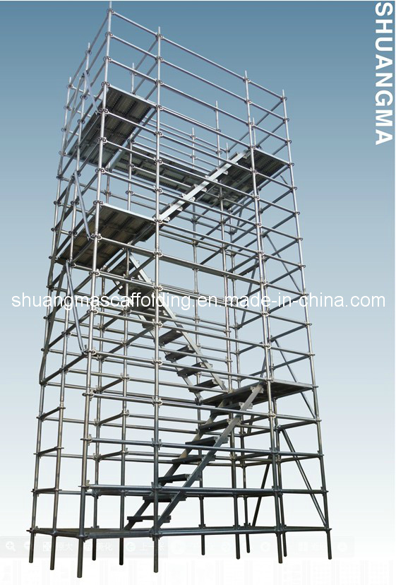 En12810 Construction Tower Ringlock Scaffolding System