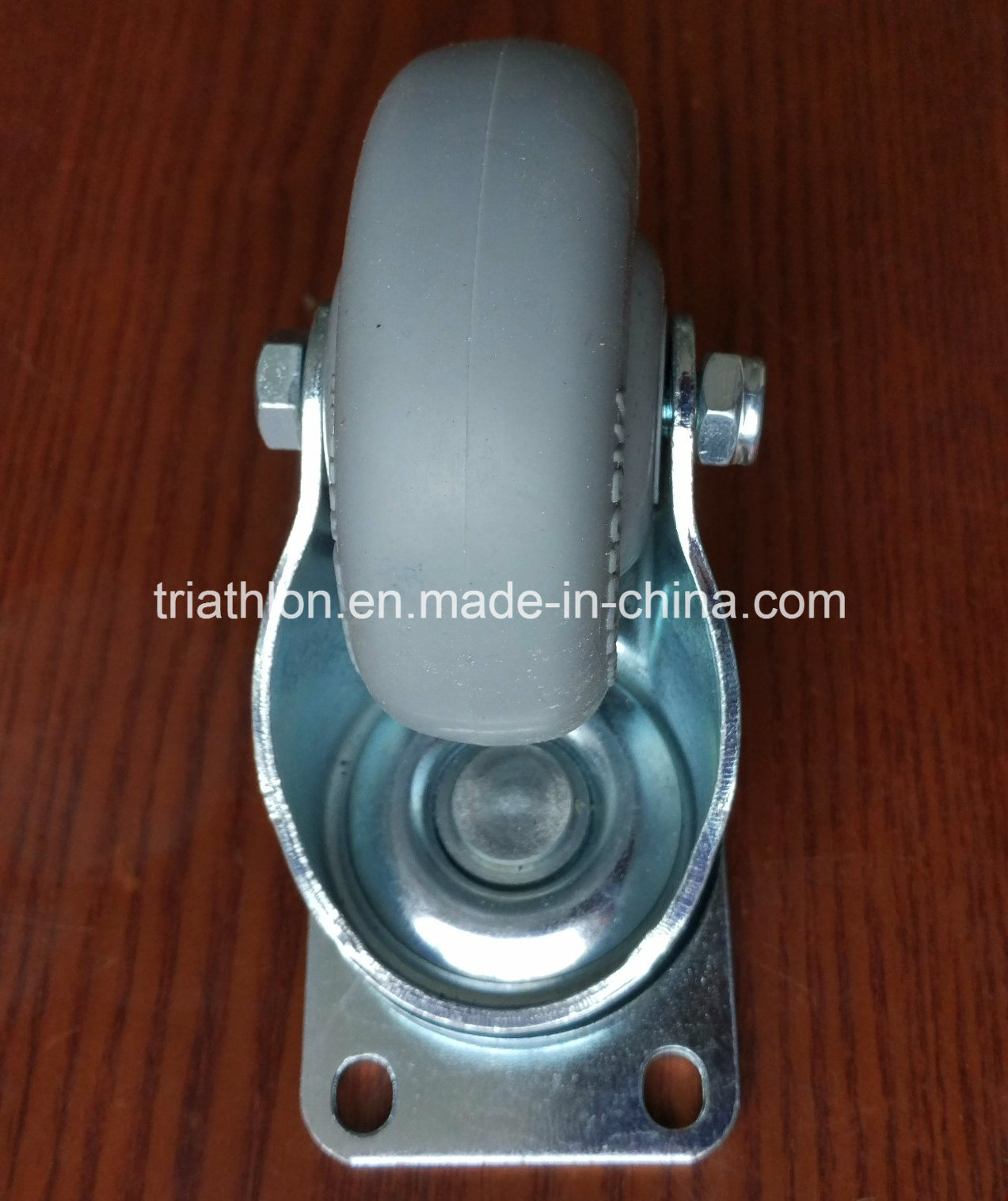 3 / 3.5 / 4 / 5 / 6X2 Inch Swivel Rotating TPR TPU TPE Caster Wheel