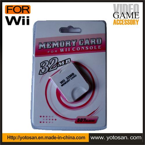 4MB 8MB 16MB 32MB 64MB 128MB 256MB 512MB Memory Card for Wii Console