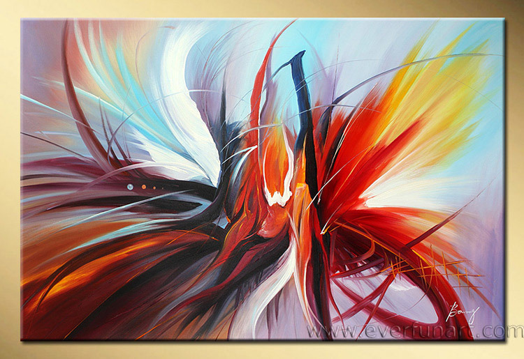China modern abstract oil painting on canvas xd1 026 for Contemporary oil paintings