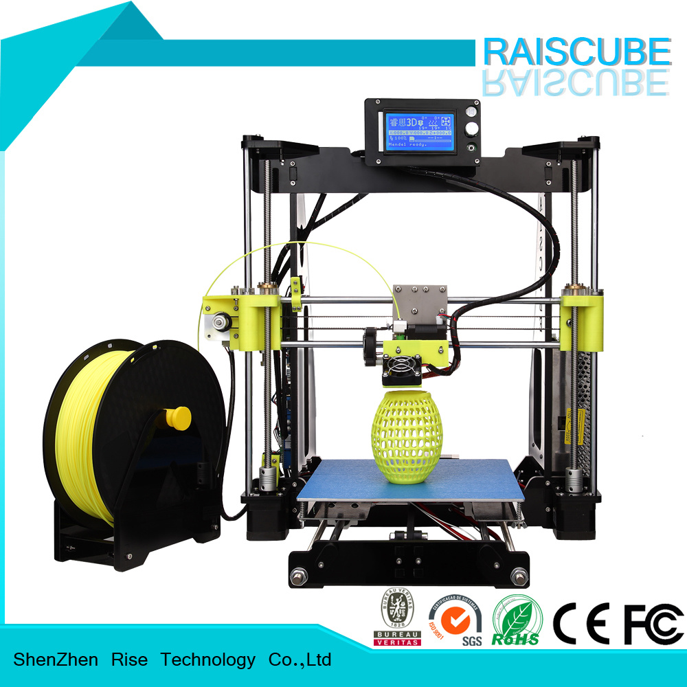 Rise High Accuray Rapid Prototype Desktop DIY 3D Printer Machine