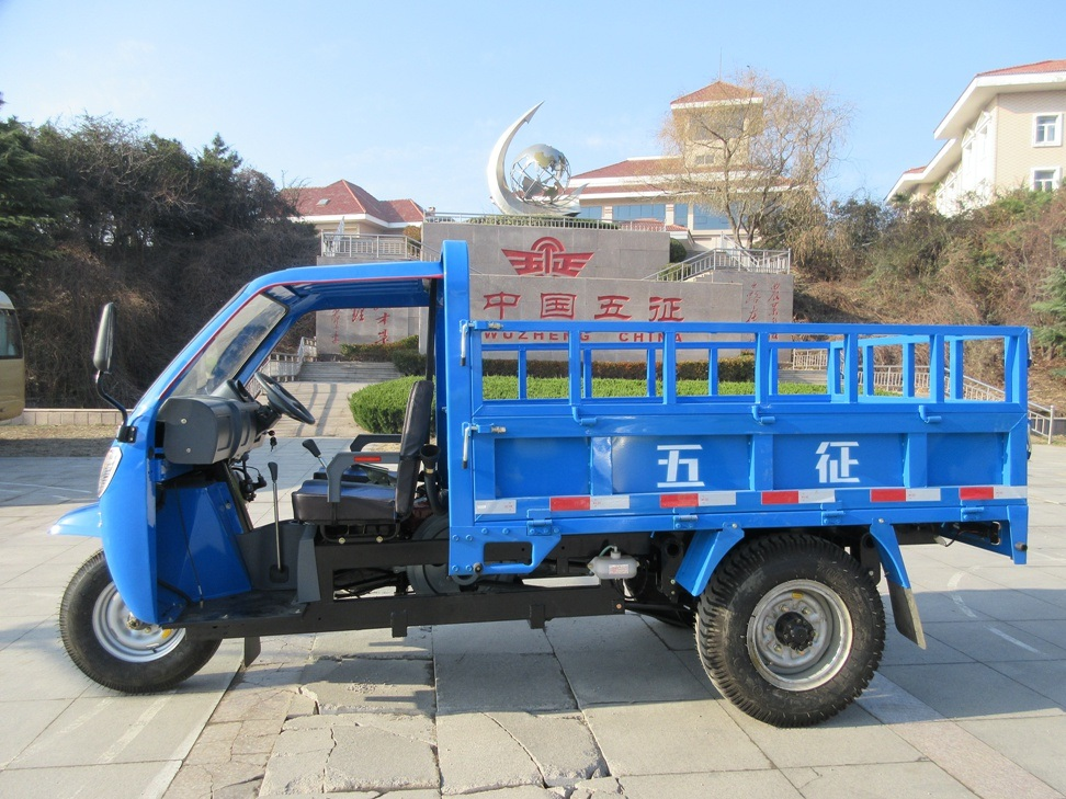 Waw Chinese Diesel Right Hand Drive Tricycle for Sale