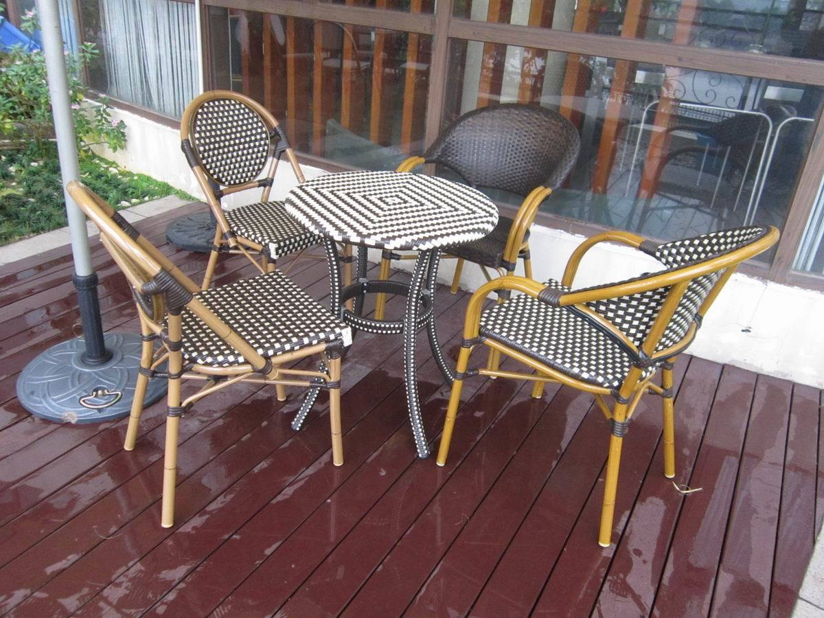 Rattan Dining Table Set Outdoor Furniture Outdoor Wicker Dining Set