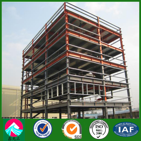 building with light steel frame construction lsf