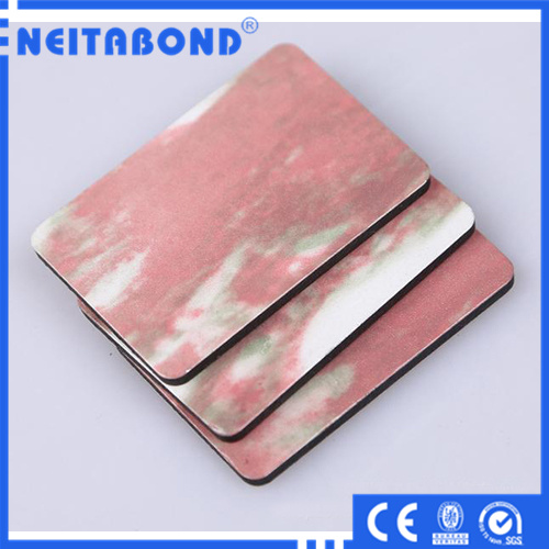 Interior Wall Stone Decoration Aluminum Composite Panel Building Construction Material
