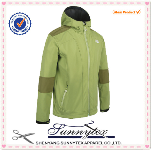 2016 Men Waterproof Softshell Jacket