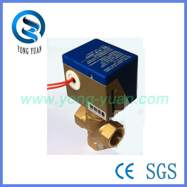 fan actuator china electric actuator valve 3 way brass control valve for fan