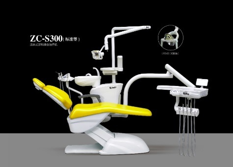 Fashion and Comfortable Integral Dental Chair with Ce Approval (ZC-S300)