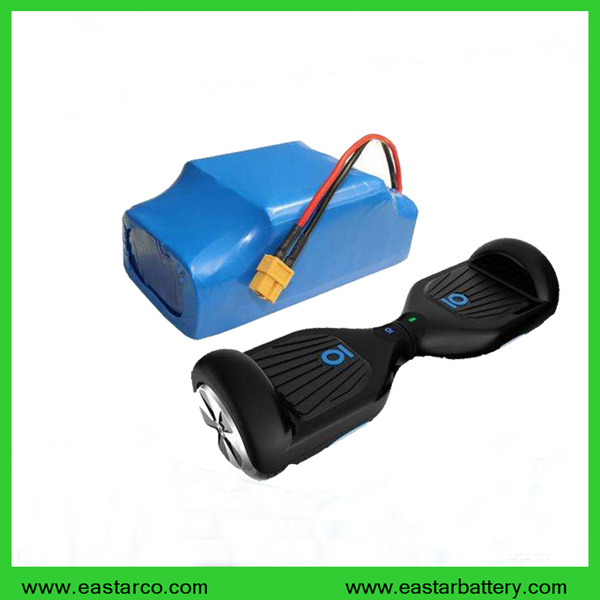 Top Quality Lithium Icr18650 10s2p Hoverboard Battery 36V 4.4ah Battery Pack