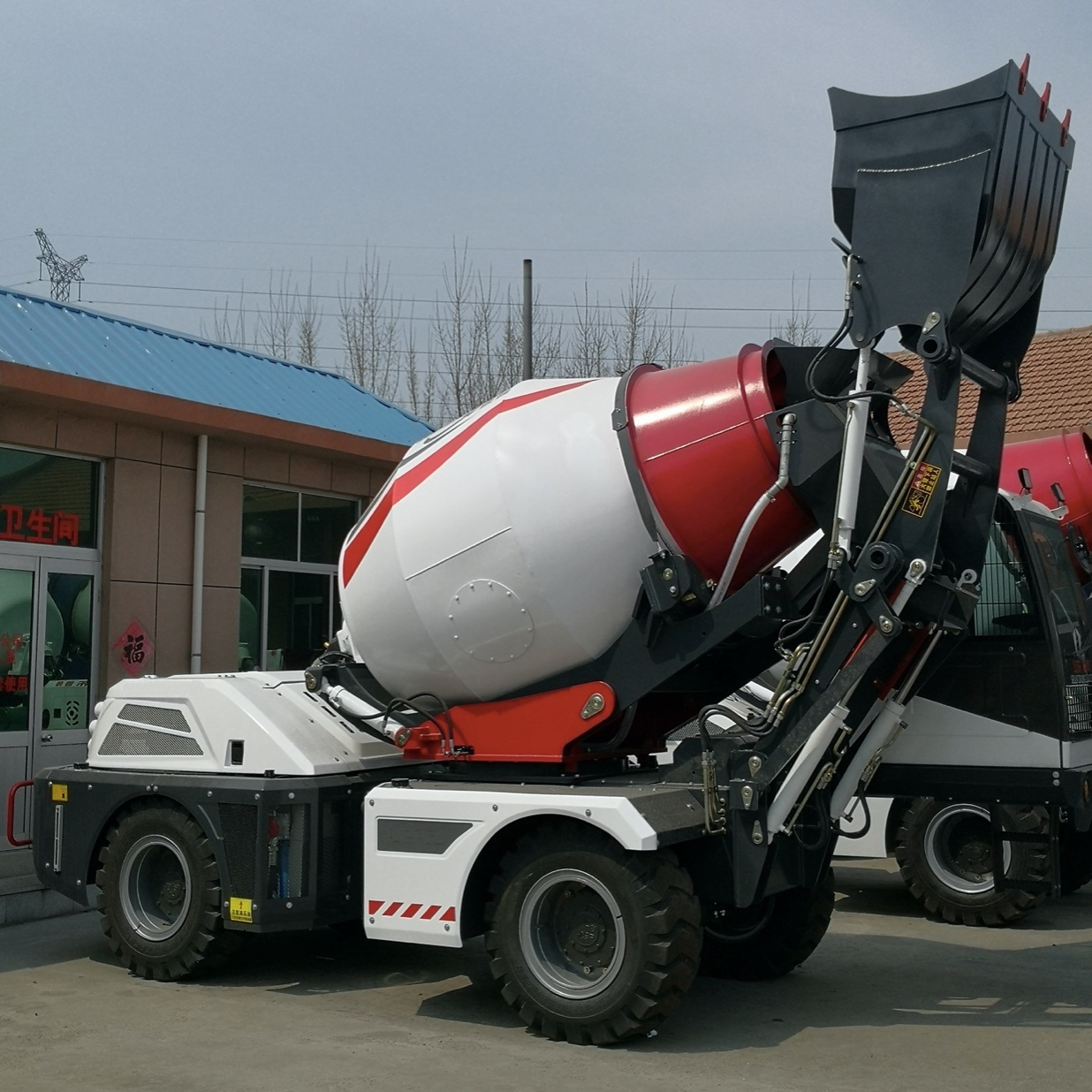 Road Construction Machine of Cement Mixe...
