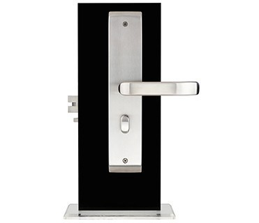 Orbita 304 Stainless Steel Keyless Electronic Hotel Door Lock with Stainless Steel Handle
