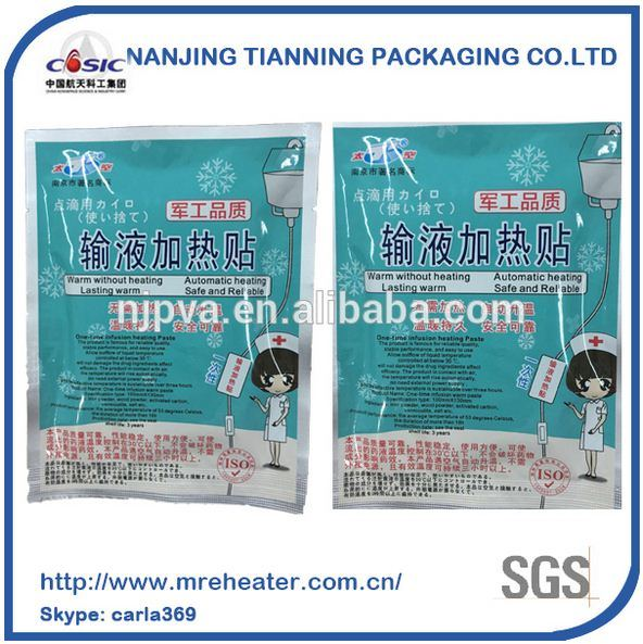 Chinese Supplier One-Time Infusion Heating Paste