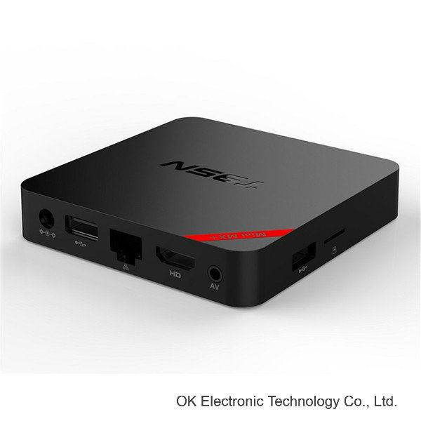 T95n Wholesale Quad Core Android 5.1 TV Box Mini Mx+ IPTV Android TV Box