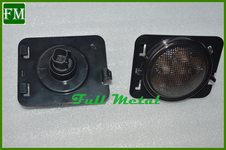 for Jeep Wrangler Jk LED Turn Signal Light Fog Lamp Fender Flares