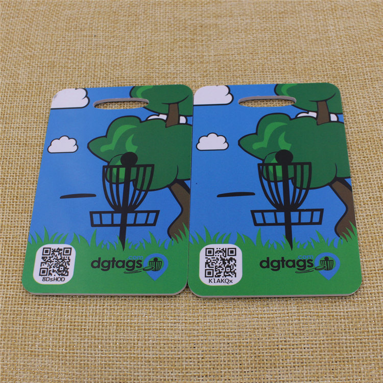 Promotion Custom Travel Plastic Luggage Tag Wholesale