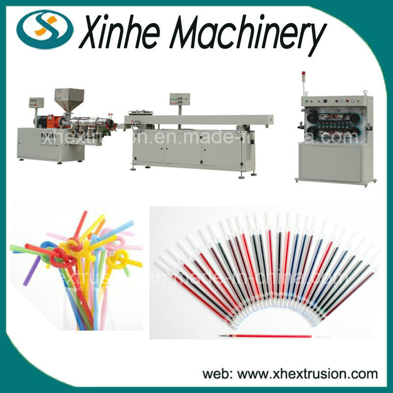 PP/PVC/PE Drinking Straw Production Line/Extrusion Line