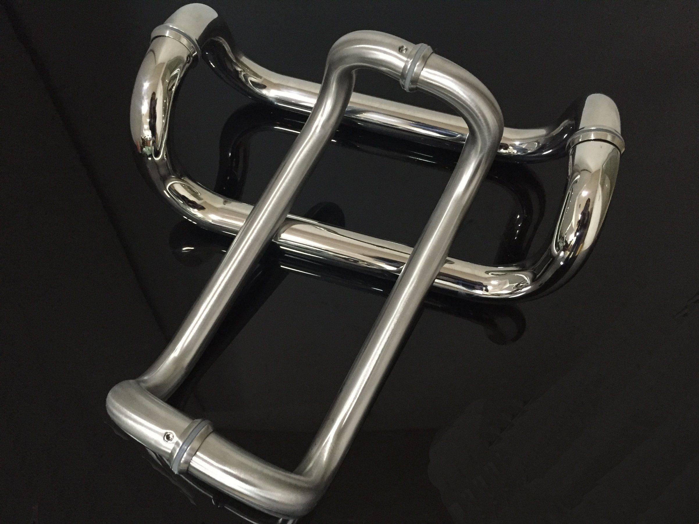 U Style Aluminum Hardwaredoor Hinge Stainless Steel Door Handle
