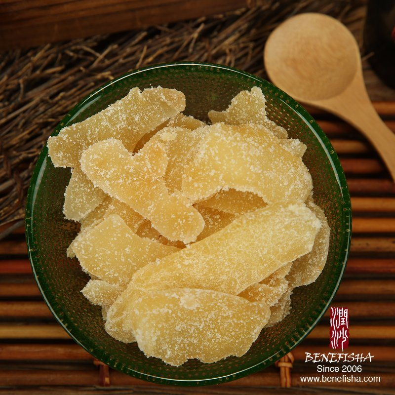 Dried Crystal Ginger Crystallized Ginger Slice