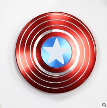 American Captain Hand Spinner Aluminum Metal Fidget Spinner