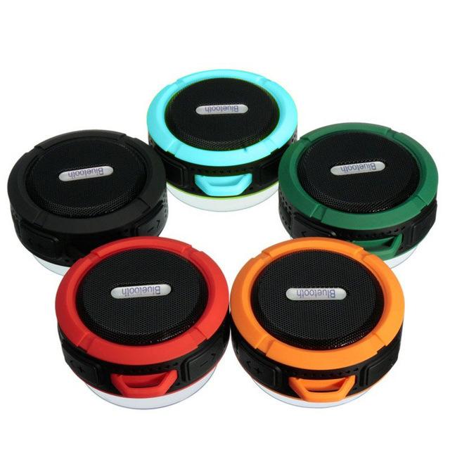 Waterproof Bluetooth Wireless C6 Speaker Outdoor Music Stereo Speaker Mini Speaker Super Bass Loudspeakers