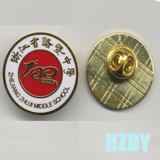 Metal Material Commemorative Badges