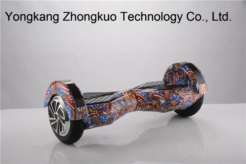 8inch 2 Wheel Electric Skateboard Plastic Hard Cover Hoverboard Abundant E-Scooter