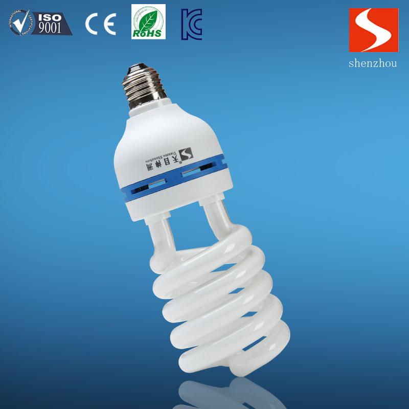 7W E27 Half Spiral SKD Energy Saving Lamp