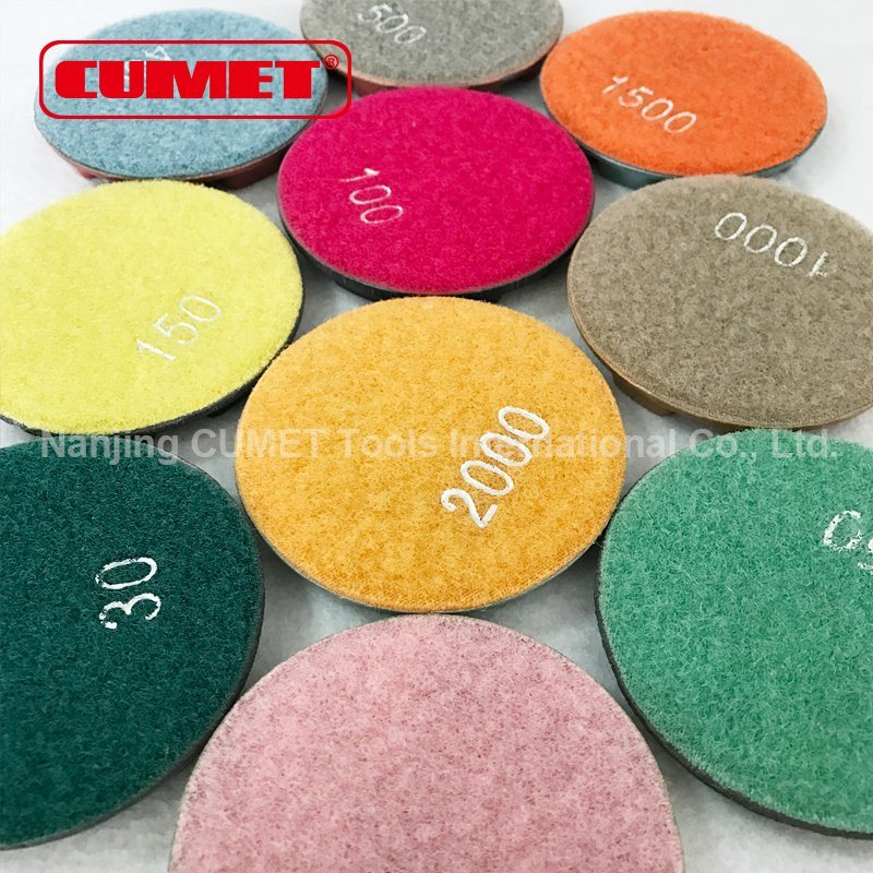 Flexible Diamond Hand Polishing Pads