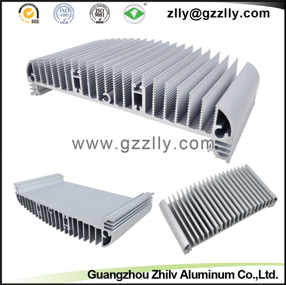 Building Material Guangzhou Supplier Aluminum Extrusion Heatsink