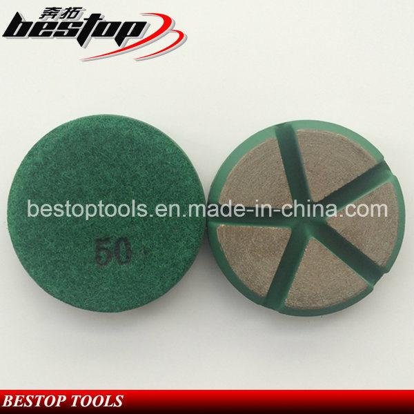 3 Inch Dry Ceramic Polishing Pad for Concrete